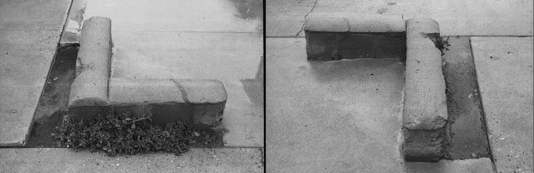 2 cement shapes